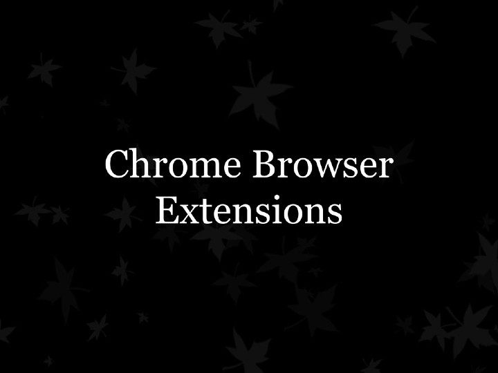 chrome-browser-extensions