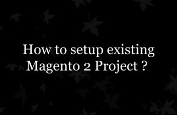 How to setup existing Magento 2 Project ?